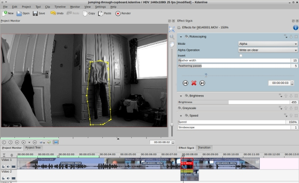 kdenlive rotoscoping